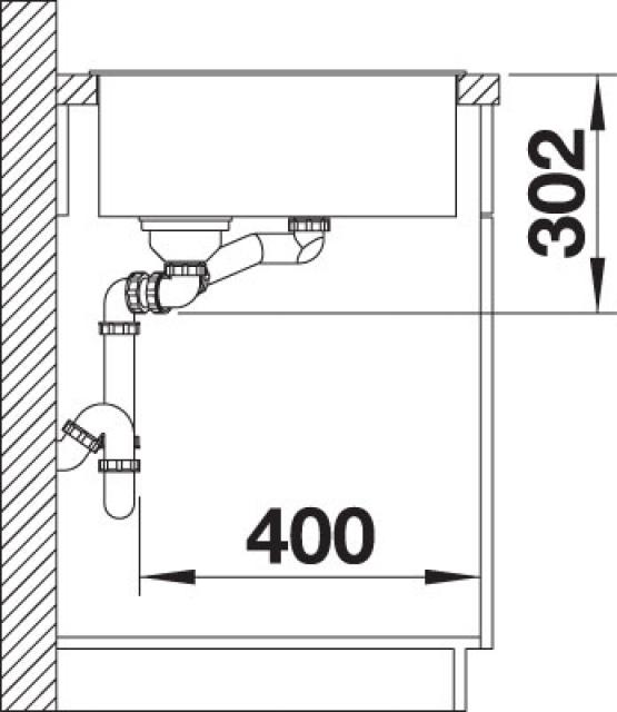 blanco blancometra 6s oppvaskkum i silgranit antrasitt. Black Bedroom Furniture Sets. Home Design Ideas