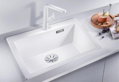 Blanco Pleon 6 oppvaskkum i hvit
