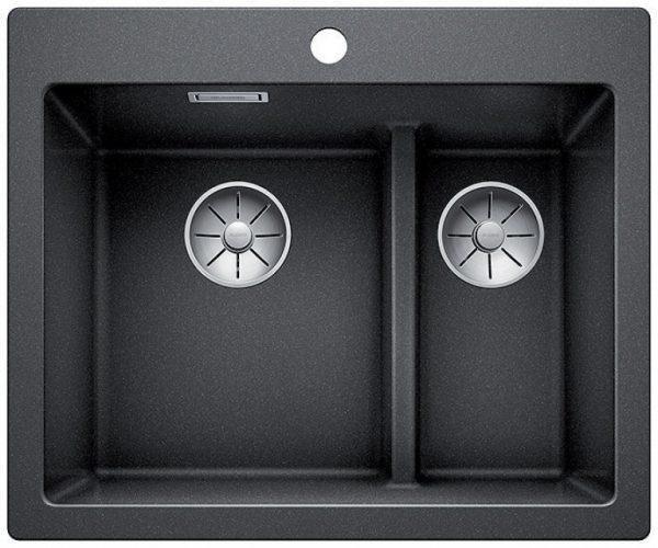 Blanco Pleon 6 split svart oppvaskkum supersmart og elegant