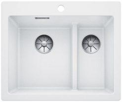 BLANCO Pleon 6 Split oppvaskkum, Antrasitt farge, Elegant, Smart, stor & dyp