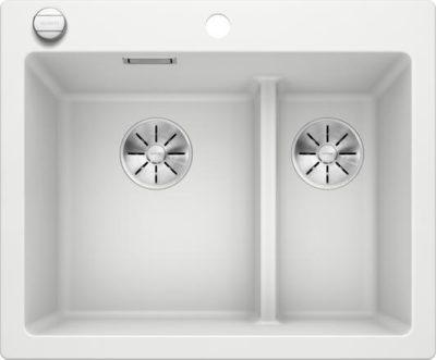 Blanco Pleon 6 Split oppvaskkum i hvit farge 523700 - 1826144