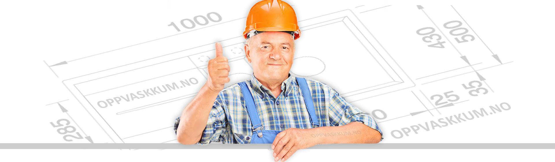 oppvaskkum montering - gratis tilbehør og utstyr