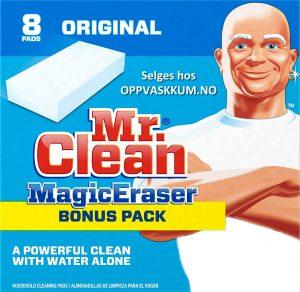 MrClean Magic Eraser - for oppvaskkum - kjøkkenvask