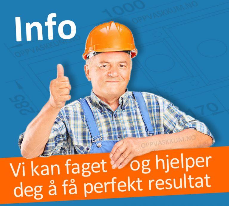 OPPVASKKUM.NO - Alle får med gratis utstyr for komplett montering