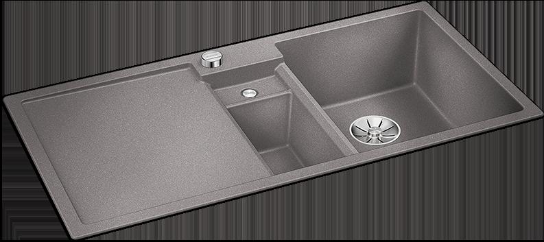 Blanco alumetallic grå farge oppvaskkum kjøkkenvask diskho Diskhoar kök