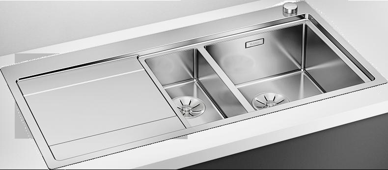 Blanco rustfritt stål oppvaskkum kjøkkenvask stålvask diskho Diskhoar kök