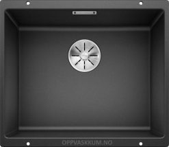 Blanco subline 500-u antrasitt sort svart oppvaskkum kjøkkenvask 523432-1825031