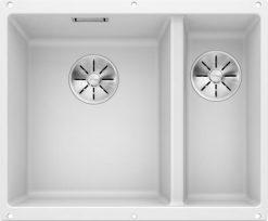 Blanco Subline 340/160-U oppvaskkum kjøkkenvask i hvit farge for underliming i 60cm underskap - 523552 - 1826519