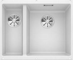 Blanco Subline 340/160-U oppvaskkum kjøkkenvask i hvit farge for underliming i 60cm underskap - 523562 1826519