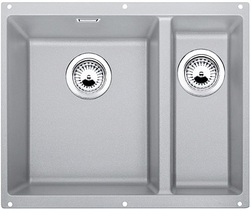 Blanco Subline 340/160 U kjøkkenvask i alumetallic grå farge