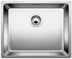 BLANCO A-Style 500 U-IF, Rustfritt stål kjøkkenvask, manuell uten hendel
