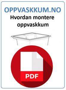 Hvordan montere kjøkkenvask / oppvaskkum guide pdf