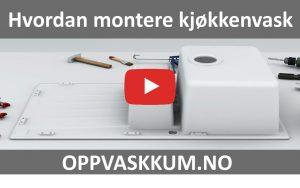 Hvordan montere kjøkkenvask / oppvaskkum video