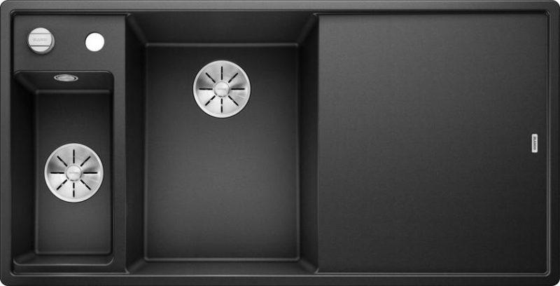 Blanco Axia III 6 S oppvaskkum i silgranitt - alt tenkelig utstyr medfølger - 524643 - 1824706 - 52917533
