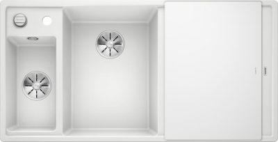 Blanco Axia III 6 S oppvaskkum i silgranitt hvit - alt tenkelig utstyr medfølger - 524657 - 1824744