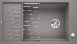 Blanco Elon XL 8 oppvaskkum i alumetallic grå farge 1811201 524862