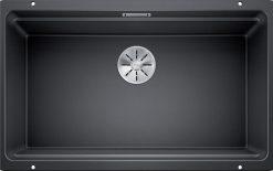 Blanco Etagon 700-U silgranit antrasitt for underliming i et 80cm skap