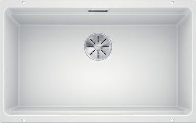 Blanco Etagon 700-U Silgranit hvit kjøkkenvask for underliming i 80cm skap