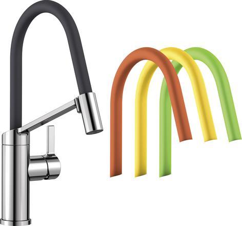 Blanco Viu-S kjøkkenkran med fleksibel tut i mange farger 1854192 524813