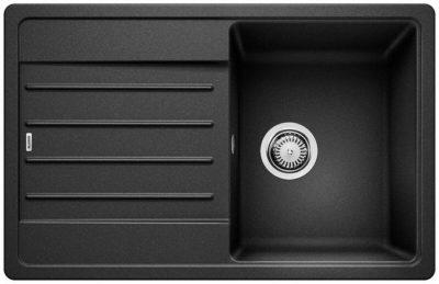 Blanco Legra 45 S oppvaskkum / kjøkkenvask i antrasitt sort farge, vendbar høyre/venstre
