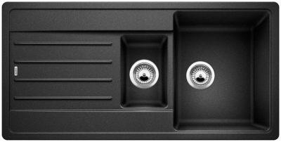 Blanco Legra 6 oppvaskkum / kjøkkenvask i antrasitt sort farge - vendbar høyre/venstre - Tysk superkvalitet