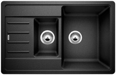 Blanco Legra 6 Compact oppvaskkum / kjøkkenvask i antrasitt sort farge - vendbar høyre/venstre - Tysk superkvalitet