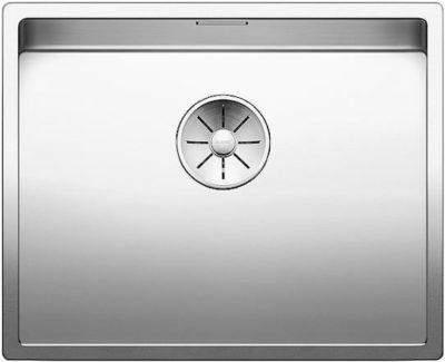 BLANCO CLARON 500 U InFino underlimt kjøkkenvask, Toppmodell, Håndlaget i Tyskland-521577-1828247