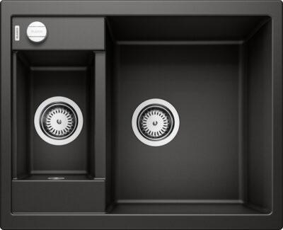 Blanco Metra 6 sort/svart farge oppvaskkum kjøkkenvask, vendbar høyre/venstre - 525922 - 1835856