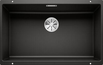 Blanco Subline 700-U underlimt kjøkkenvask i sort/svart farge - 526001 - 1836457