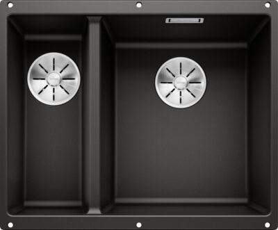 Blanco Subline 340/160-U underlimt dobbel kum i sort/svart farge 525986 1836358