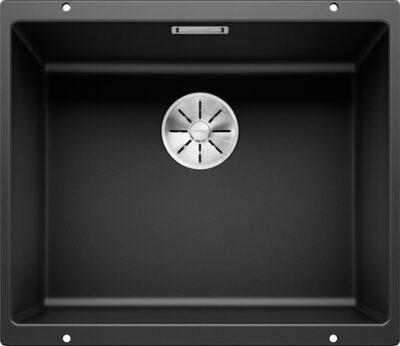 Blanco subline 500-U underlimt oppvaskkum i svart/sort farge 525995 - 1836426